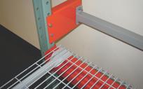 Backstop beams for warehouse racks