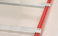 Cross bar supports to improve pallet rack safety