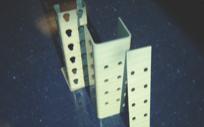 Heavy duty frame splice kits for pallet racks