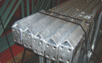 Welded Deflecto guards